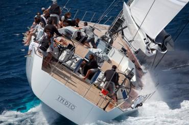 Indio appartient à un industriel Italien. Ce voilier est l'un des derniers nés des Wally © Guillaume Plisson / OCEAN71 Magazine
