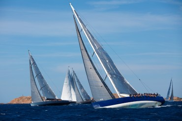 The Wally yachts are competing in the North-East of Sardinia © Guillaume Plisson / OCEAN71 Magazine