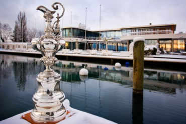 After Alinghi's victory, America's Cup trophy returned for the 1st time in Europe after 150 years © Ivo Rovira / Alinghi