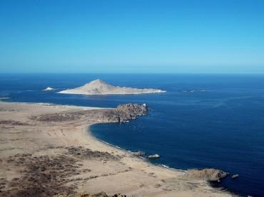 Ile du «Pan de azucar», au cœur du parc National, où vivent manchots de Humboltz, lions de mer et loutres © Laetitia Maltese / OCEAN71 Magazine