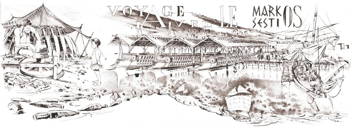 Fabrique d'amphores à proximité d'un port antique © Antoine Bugeon / OCEAN71 Magazine