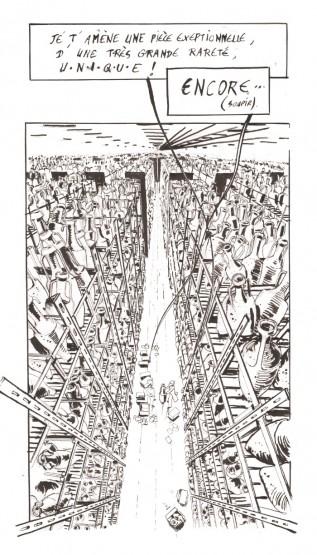 Illustration du dépôt d'amphores d'Aix Les Milles © Antoine Bugeon / OCEAN71 Magazine