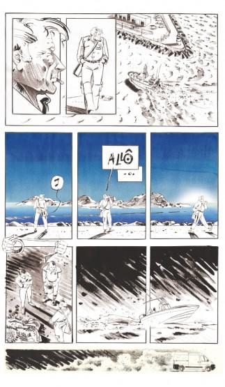 Illustration de l'enquête de Francis Le Guen pour OCEAN71 Magzine © Antoine Bugeon / OCEAN71 Magazine