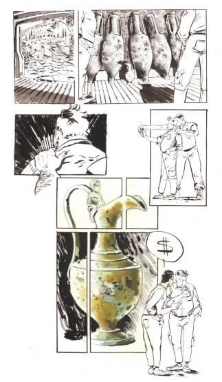 Illustration de l'enquête de Francis Le Guen pour OCEAN71 Magazine © Antoine Bugeon / OCEAN71 Magazine