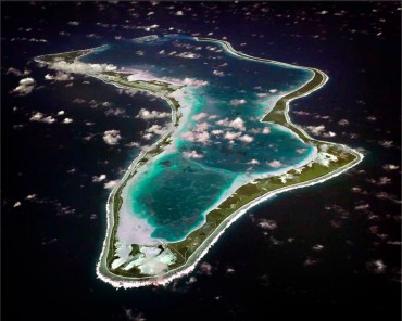 The island of Diego Garcia is today's only one in the Chagos Archipelago to be inhabited © Wikipedia