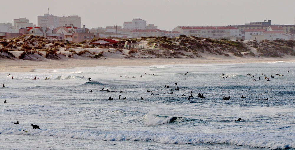 Since surfing has become a trendy and professional water sport in the world, some spots are overcrowded © Andy Guinand / OCEAN71 Magazine