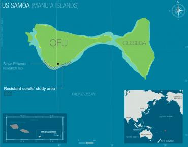 Plan de l'île d'Ofu © Rodolphe Melisson / OCEAN71 Magazine