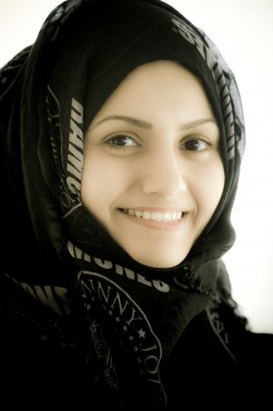 Jamila Bu-eisha, conservatrice du musée de la perle © Francis Le Guen / OCEAN71