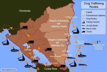 The drug trafficking routes have shaped some of Central America's local economy © InSight Crime