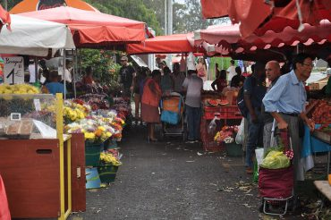 Au marché de Saint-Paul, le métissage réunionnais est affiché dans toute sa splendeur. Les habitants de l'île font leurs courses au côté de touristes, recherchant les meilleures gousses de vanille © Andy Guinand / OCEAN71 Magazine